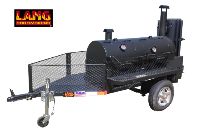 "36"" Hybrid Deluxe Run-About BBQ Trailer"