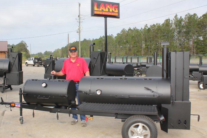 Ben Lang with 60 Deluxe Chargrill
